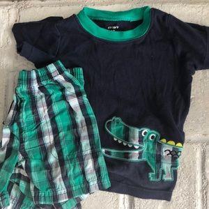 Baby Boy T Shirt and Shorts Set